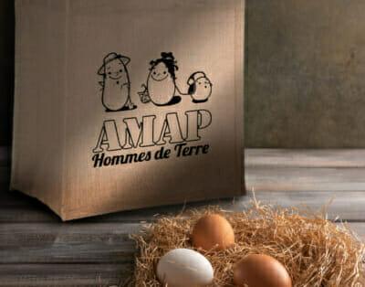Sac de l'AMAP - Roadie Kraft